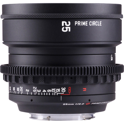 LOCKCIRCLE PRIME CIRCLE XE 25mm f/2.0 Lens (EF Mount, Marked in Feet)