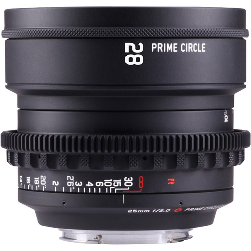 LOCKCIRCLE PRIME CIRCLE XE 28mm f/2.0 Lens (EF Mount, Marked in Feet)