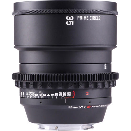 LOCKCIRCLE PrimeCircle XE Series Canon EF Mount 35mm f/1.4 Super-Speed Lens (Metric Markings)