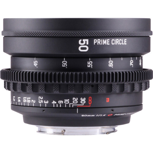 LOCKCIRCLE PRIME CIRCLE XE 50mm f/1.4 SuperSpeed Lens (EF Mount, Marked in Feet)