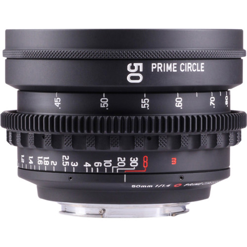 LOCKCIRCLE PrimeCircle XE Series Canon EF Mount 50mm f/1.4 Super Speed Lens (Metric Markings)