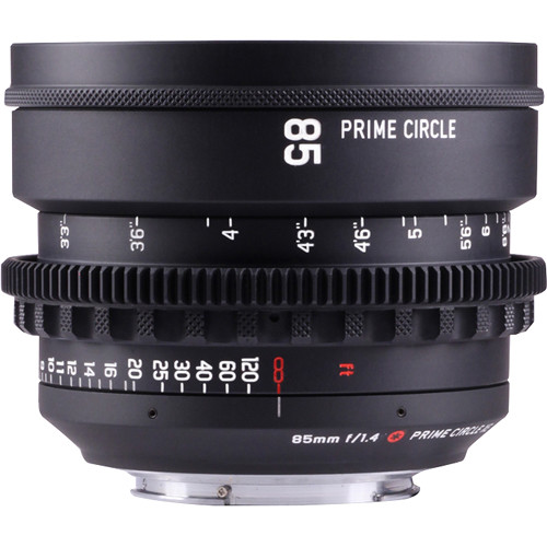 LockCircle PRIME CIRCLE XE 85mm f/1.4 SuperSpeed Lens (EF Mount, Marked in Feet)