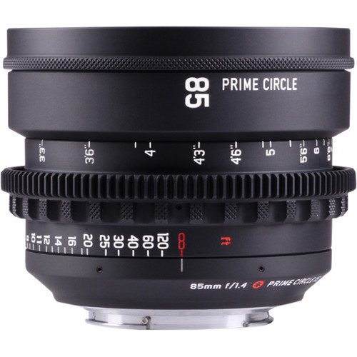 LockCircle PrimeCircle XE Series Canon EF Mount 85mm f/1.4 Super Speed Lens (Metric Markings)