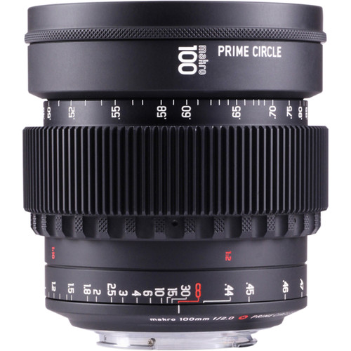 LOCKCIRCLE PrimeCircle XE Series Canon EF Mount 100mm f/2.0 Makro Lens (Metric Markings)