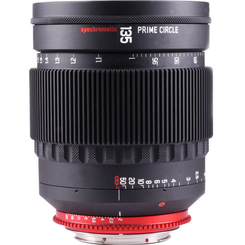LockCircle PRIME CIRCLE XM 135mm f/2.0 Lens (EF Mount, Marked in Feet)