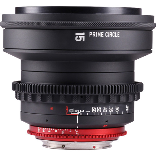 LockCircle PRIME CIRCLE XM 15mm f/2.8 Lens (EF Mount, Marked in Feet)