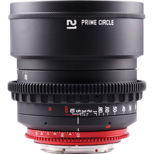 LockCircle PRIME CIRCLE XM 21mm f/2.8 Lens (EF Mount, Marked in Feet)