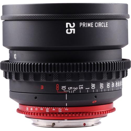 LockCircle PRIME CIRCLE XM 25mm f/2.0 Lens (EF Mount, Marked in Feet)