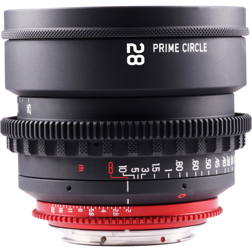 LockCircle PRIME CIRCLE XM 28mm f/2.0 Lens (EF Mount, Marked in Feet)