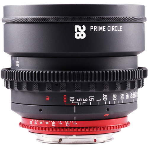 LockCircle PrimeCircle XM Series Canon EF Mount 28mm f/2.0 Lens (Metric Markings)