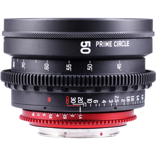 LOCKCIRCLE PrimeCircle XM Series 50mm f/1.4 Super Speed Lens (EF Mount, Metric Markings)