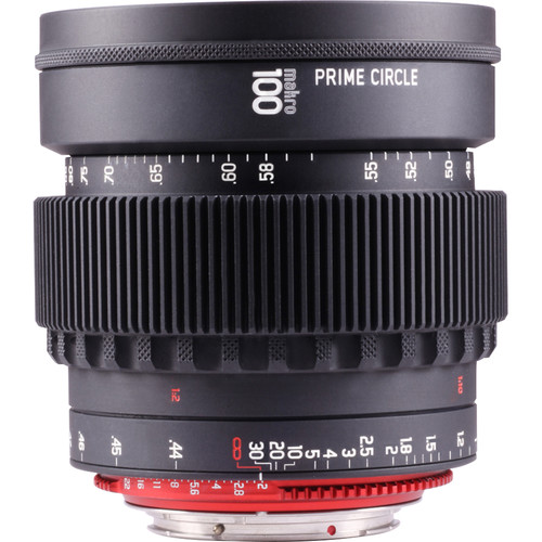 LockCircle PRIME CIRCLE XM 100mm f/2.0 Lens (EF Mount, Marked in Feet)