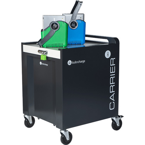 LocknCharge Carrier 30 30-Device Top-Loading Charging Cart
