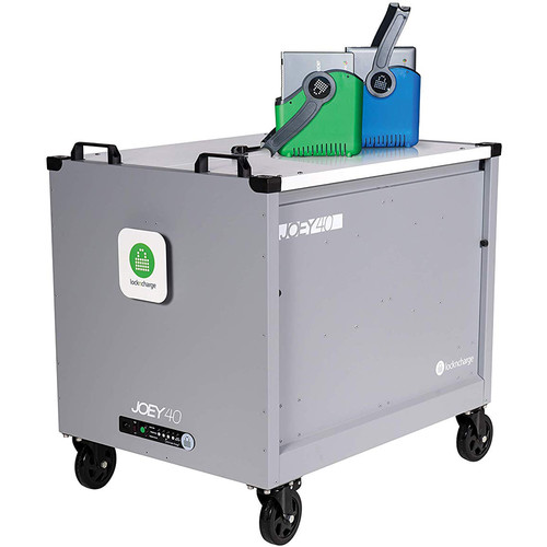 LocknCharge Joey 30 Cart -Charges/ Secures/ Stores/ Transports Up To 30 Devices