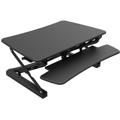 Loctek LX36B 36In Sit-Stand Desktop Riser (Black)