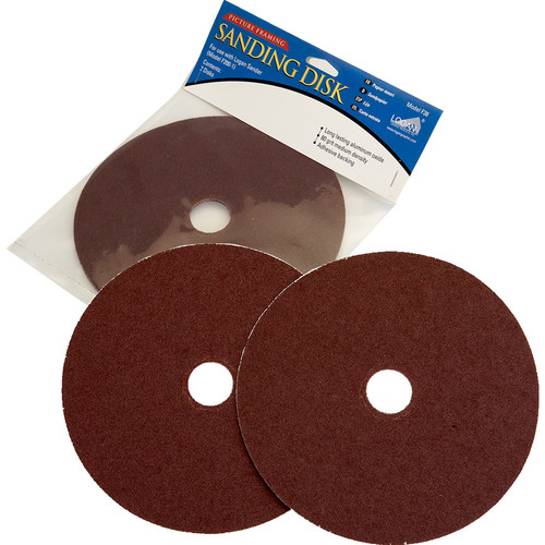"Logan Graphics 8"" Replacement Sanding Disk for F200-1 Sander"