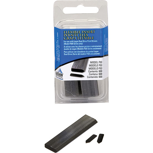Logan Graphics Flexible Point Strips (Small Pack, 600 Inserts)