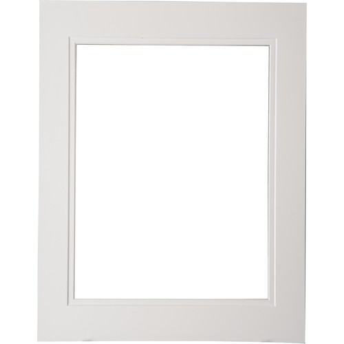 """Logan Graphics 11 x 14"""" Double Mat Frame with 8.5 x 10.5"""" Opening (Seashell White/ Seashell White)"""