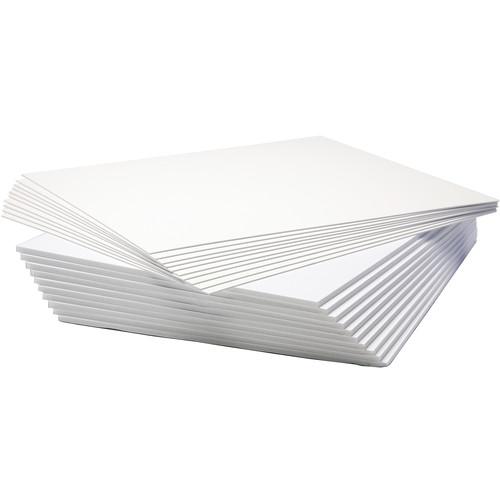 Logan Graphics Seashell White Photo Mount and Foam Backing Board (10-Pack)