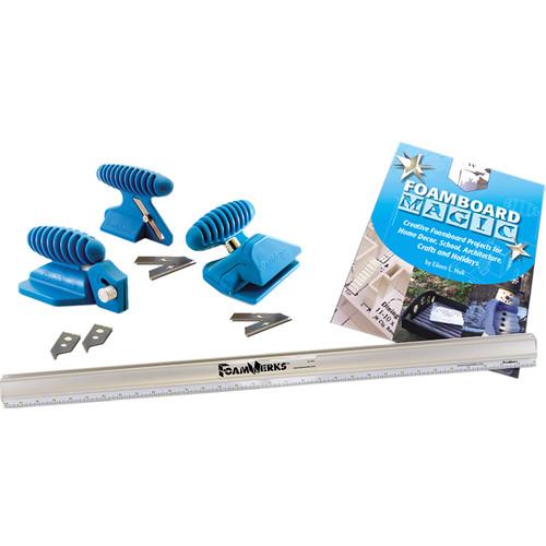 Logan Graphics W1001 FoamWerks Tool Kit for Cutting Foam Board