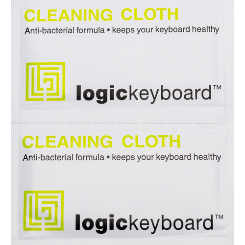 LogicKeyboard Anti-Bacterial Keyboard Cleaning Wipes (Pack of 20)