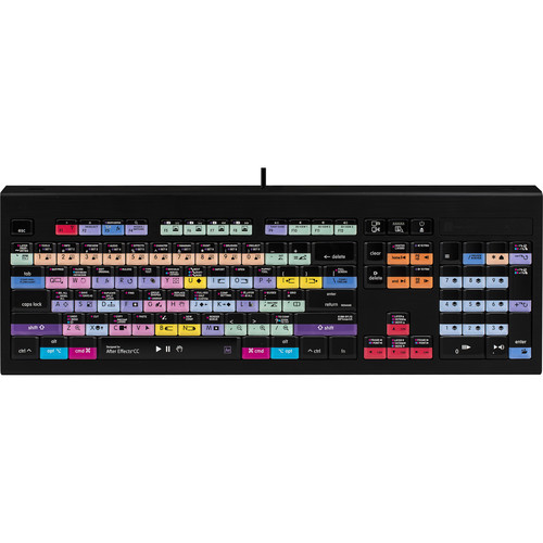LogicKeyboard Astra Series Adobe After Effects CC Backlit Keyboard for Mac (American English)