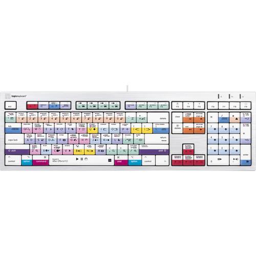 LogicKeyboard ALBA Adobe After Effects CC Keyboard for Mac (American English)