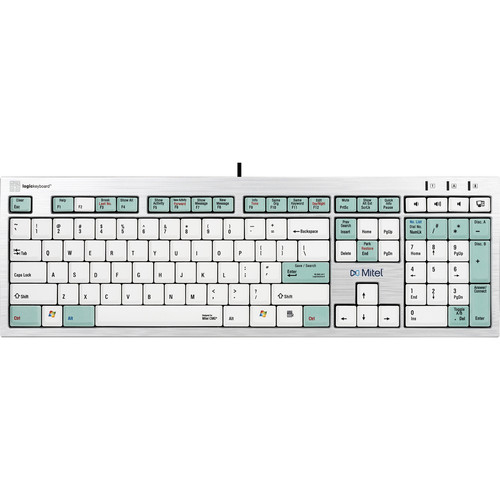 LogicKeyboard Telecom Keyboard for Mitel InAttend Switchboard Operator System (American English)