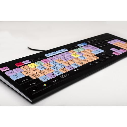 LogicKeyboard Astra Series Adobe Lightroom CC / CS6 Backlit PC Keyboard (American English)