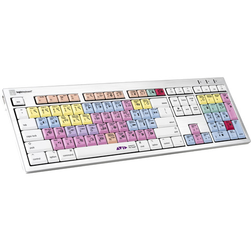 LogicKeyboard ALBA Keyboard for Avid Pro Tools (Mac, American English)