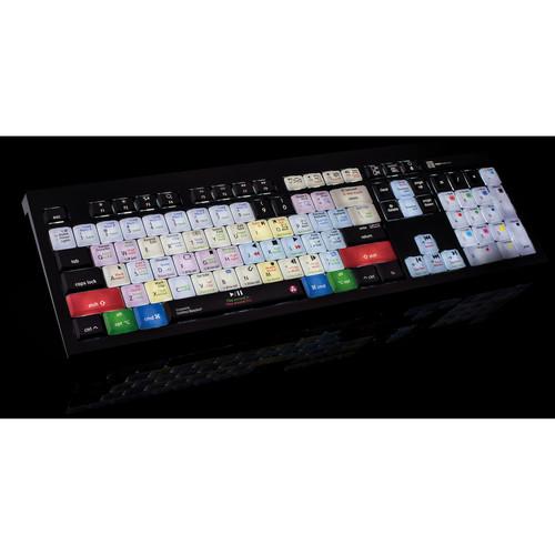 LogicKeyboard Astra Series Davinci Resolve 12 Mac Backlit Keyboard (US)