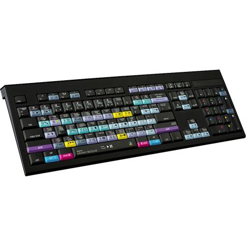 LogicKeyboard Astra Series DaVinci Resolve 15 Beta Backlit Mac Keyboard (American English)
