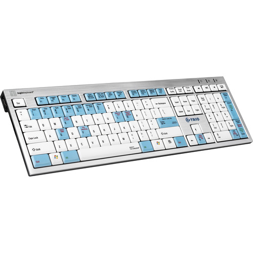 LogicKeyboard Telecom Keyboard for Trio Enterprise Attendant Operator System (American English)