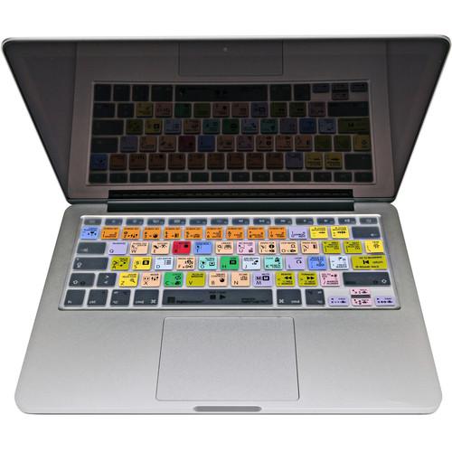 LogicKeyboard Transparent Apple Ultra-Thin MacBook LogicSkin for Logic Pro X Version 10.2.1