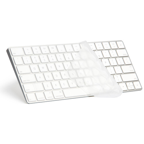 LogicKeyboard Clear Silicone American English Cover for Apple Magic Keyboard
