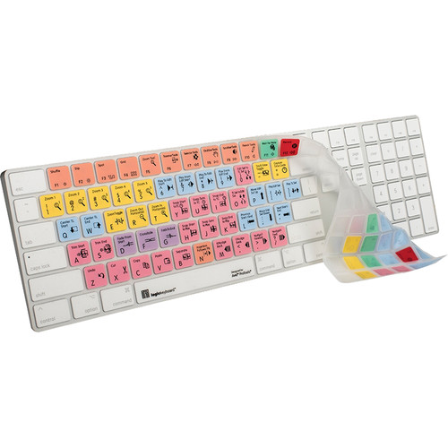 LogicKeyboard LogicSkin Avid Pro Tools Apple Magic Numeric Keyboard Cover