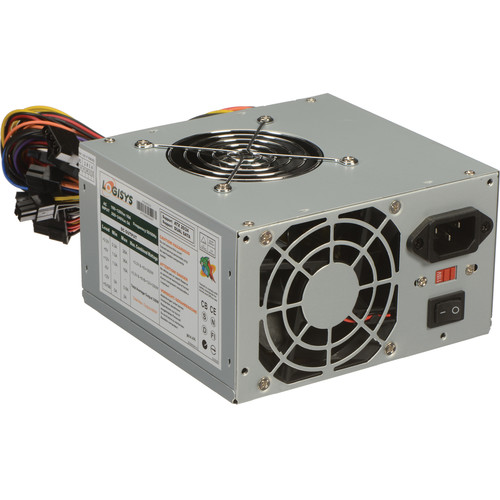 Logisys 480W Dual Fan 20+4 ATX Power Supply