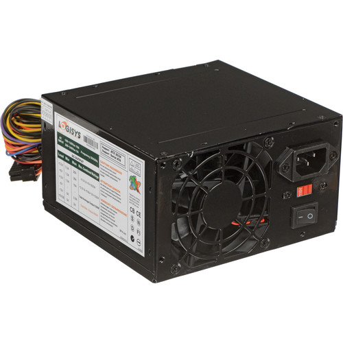 Logisys 480W Black Beauty 20+4 ATX Power Supply
