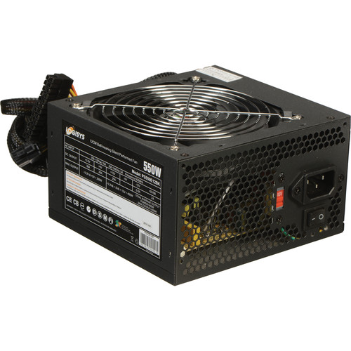 Logisys 550W Power Supply Unit (Black)