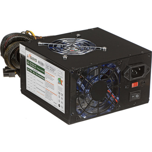 Logisys 575W SLI Ready Switching Power Supply Unit (Black)