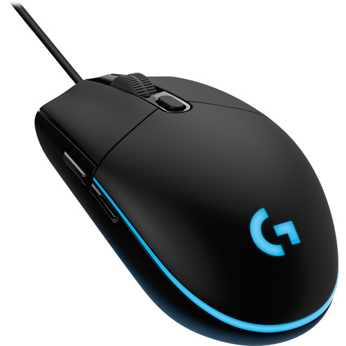 Logitech G203 Prodigy Wired Mouse (Black)