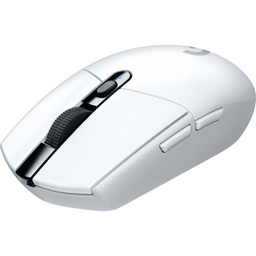Logitech G305 LIGHTSPEED Wireless Mouse (White)