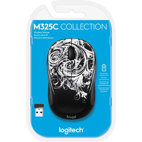 Logitech M325c Wireless Mouse (Dark Fleur)