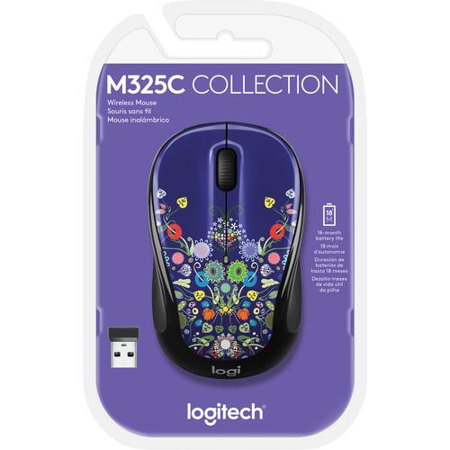 Logitech M325c Wireless Mouse (Natural Jewelry)