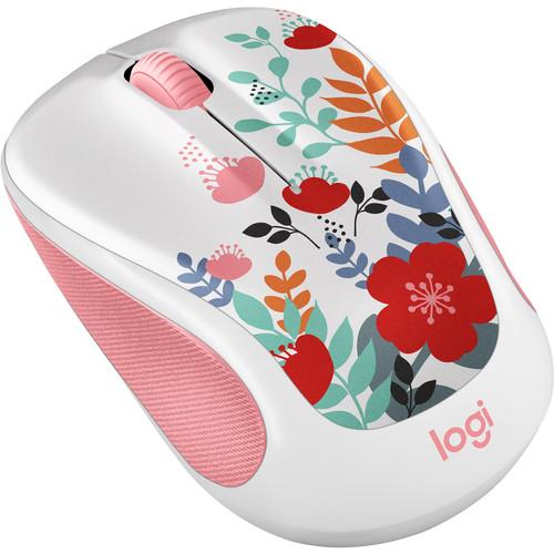Logitech Color Collection Wireless Mouse (Summer Bouquet)