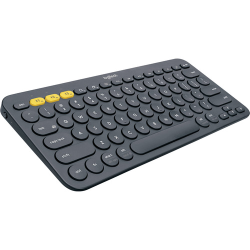 Logitech K380 Bluetooth Keyboard (Dark Gray)