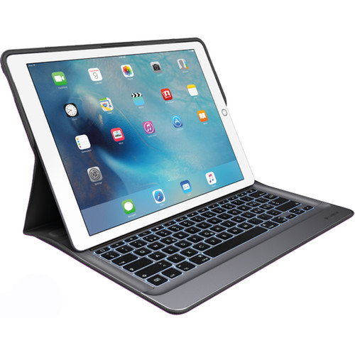 "Logitech Create Backlit Keyboard Case with Smart Connector for iPad Pro 12.9"" (Black/Space Gray)"