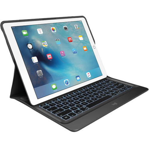 """Logitech Create Backlit Keyboard Case with Smart Connector for iPad Pro 12.9"""" (Black)"""
