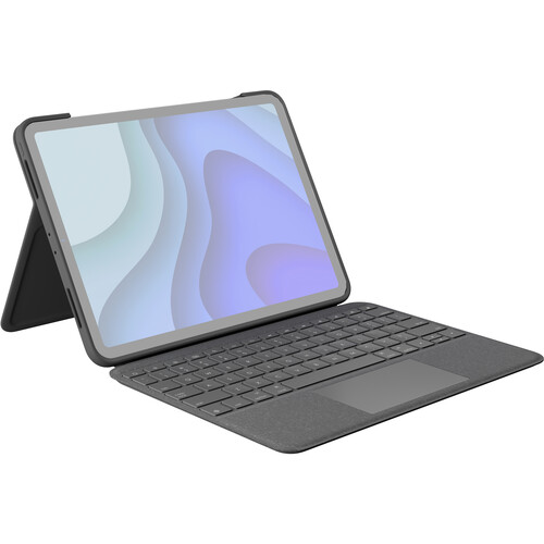 """Logitech Folio Touch Keyboard and Trackpad Cover for 11"""" iPad Pro (Graphite)"""