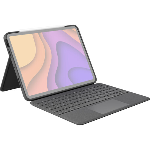 Logitech Folio Touch Keyboard and Trackpad Cover for iPad Air Gen 4 (Oxford Grey)